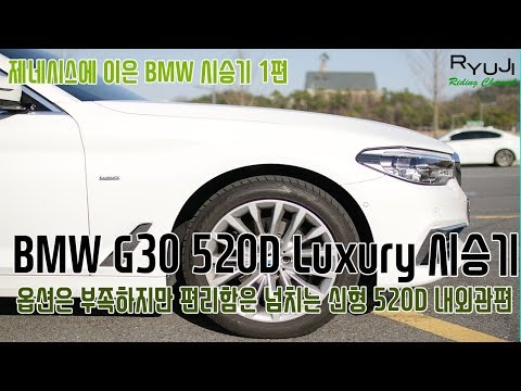 [CarReview] BMW G30 520D Luxury 시승기 - 1편 내/외관편