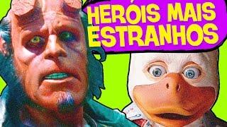 5 HERÓIS MAIS ESTRANHOS DO CINEMA!