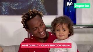 André Carrillo con Movistar Deportes: