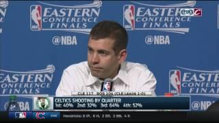 Brad Stevens postgame press conference | Cavs-Celtics Game 1 | 2017 Eastern Conference Finals