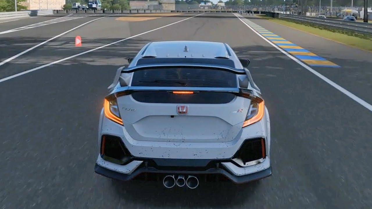 Forza Motorsport 7 - Honda Civic Type-R 2018 - Test Drive ...