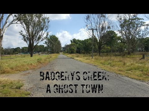 Badgerys Creek: A Ghost Town