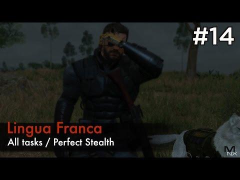【MGSV:TPP】Episode 14 : Lingua Franca S RankAll TasksPerfect Stealth