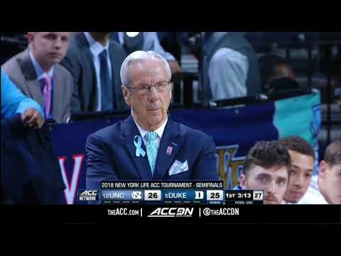 ACC MBB Tournament: North Carolina vs Duke Condensed Game 2018