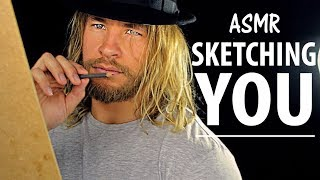 Keep Still Whilst I SKETCH YOU [ASMR] thumbnail