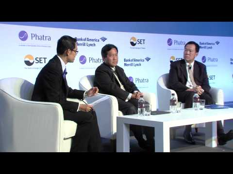 """Thailand Focus 2013: Panel Discussion: """"Increasing Energy Connectivity in The Region"""""""