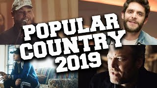 TOP 50 Most Popular Country Songs of 2019