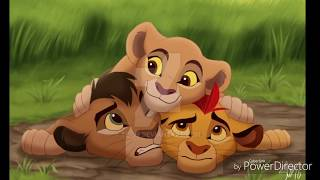 Kopa,kiara,kion brothers - lion king