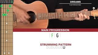Dreams Guitar Cover Fleetwood Mac 🎸|Tabs + Chords|
