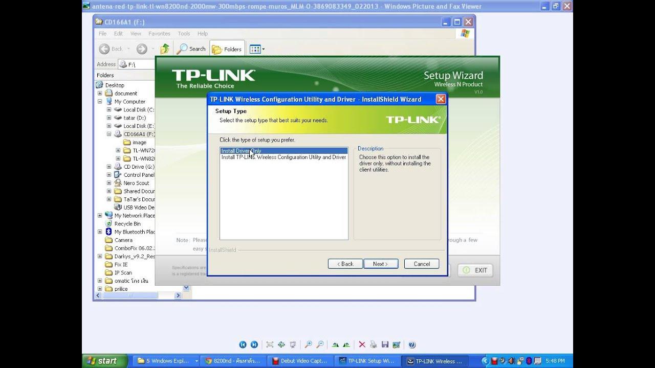 Скачать драйвер для tp link tl wn8200nd