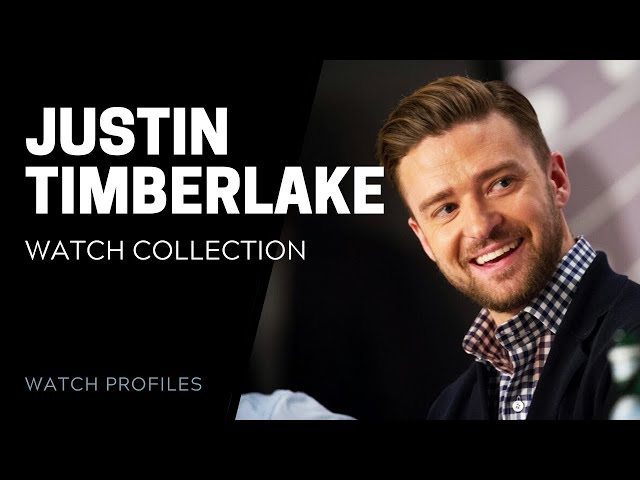 Justin Timberlake Watch Collection - Celebrity Watch Collection | SwissWatchExpo [Watch Collection]