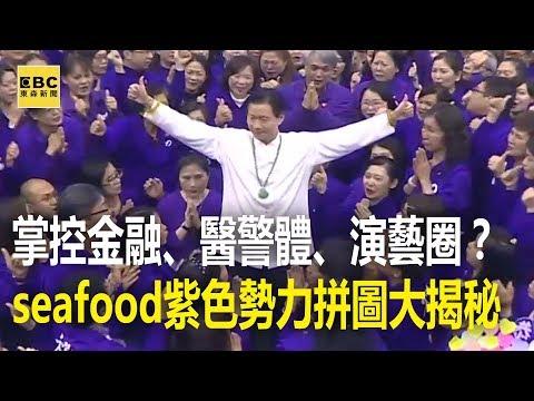 掌控金融、醫警體、演藝圈?seafood紫色勢力拼圖大揭秘 20170921 【東森大直播】