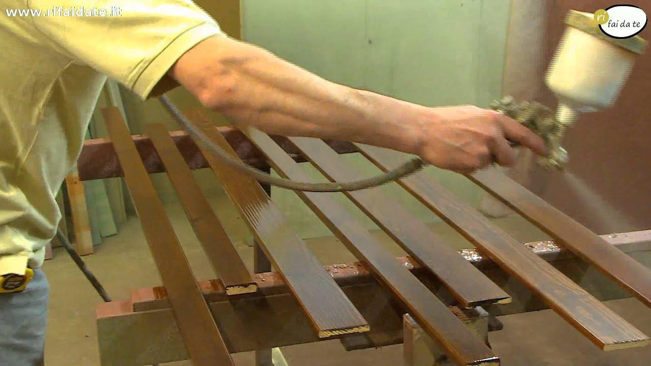 Lucidare il legno - YouTube