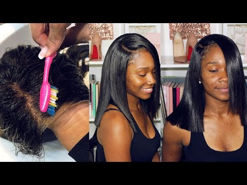 CLIENT SERIES: Washing, Styling, and Bringing My Lace Frontal Wig Back to Life