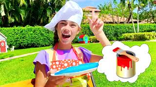 Nastya and children's stories about play with Artem and Mia