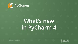 What's New in PyCharm 4