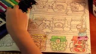 Раскраска АНТИСТРЕСС - АРТЙОГА - ускореное раскрашивание- интересные факты