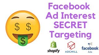 Facebook Ad Interest Targeting (Secret Method)