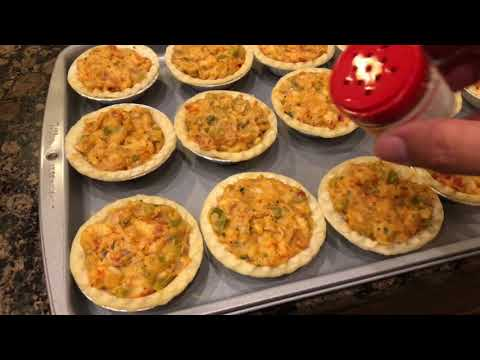 Miniature Crawfish Pies By The Cajun Ninja