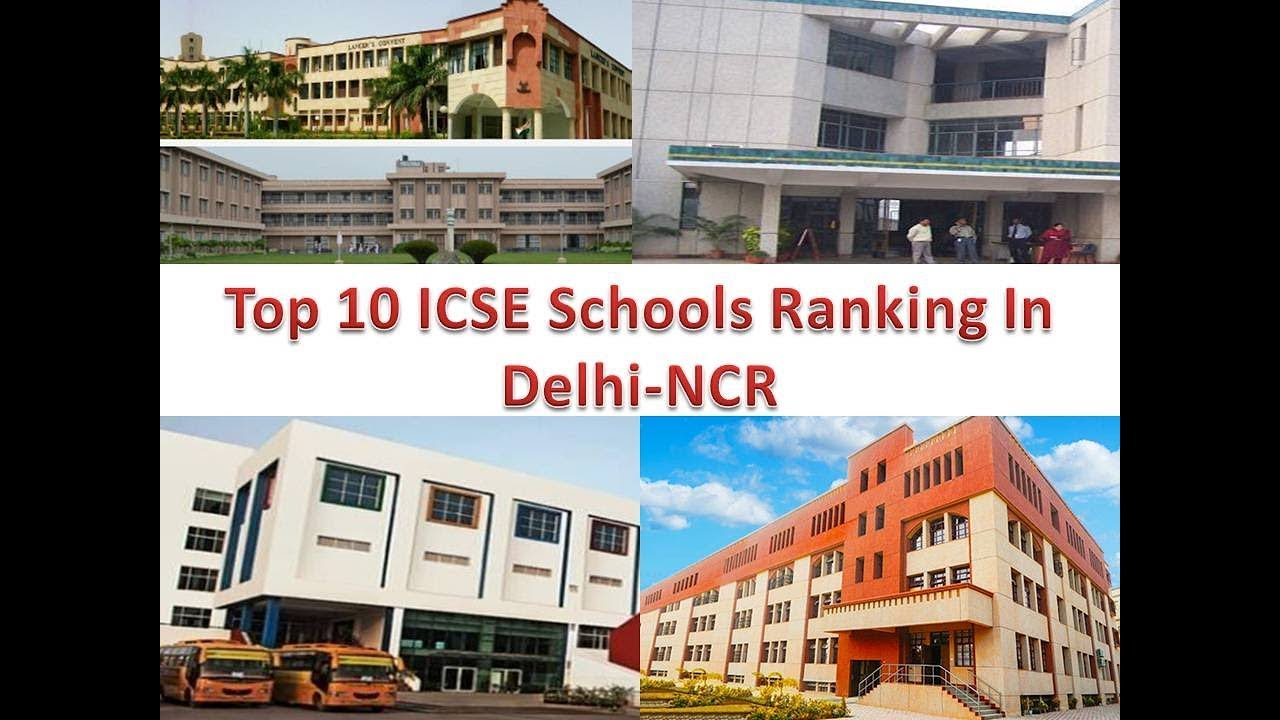 top 10 icse schools ranking in delhi ncr youtube