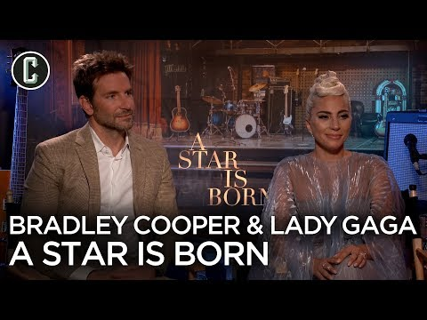 Lady Gaga and Bradley Cooper on A Star Is Born