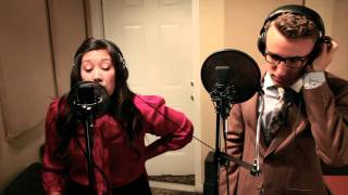 """A Whole New World"" Landry and Bri Cover"