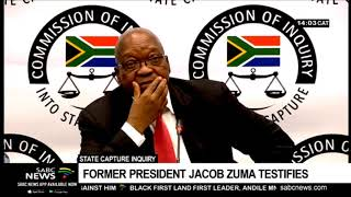 State Capture Inquiry | Zuma tells of a conspiracy plot against him