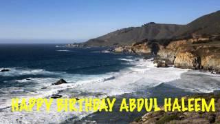 AbdulHaleem   Beaches Playas - Happy Birthday