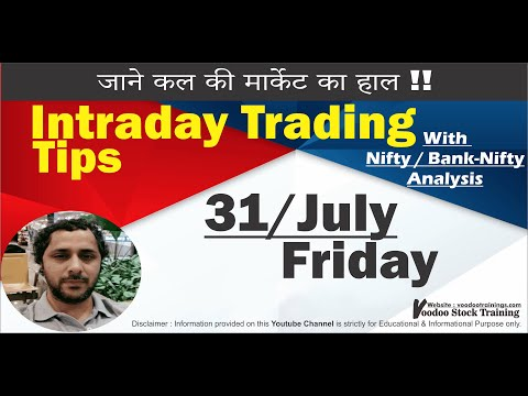 Best Intraday Stocks for 31 July | Free Intraday Live Trading Tips | Nifty & Bank Nifty Tips