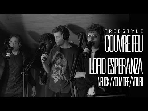 Youtube: LORD ESPERANZA x NELICK x  YOUV DEE x YOURI  – Freestyle COUVRE FEU sur OKLM Radio