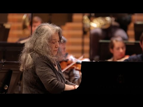 Schumann -  Concerto pour piano - Martha Argerich / Riccardo Chailly (répétition)