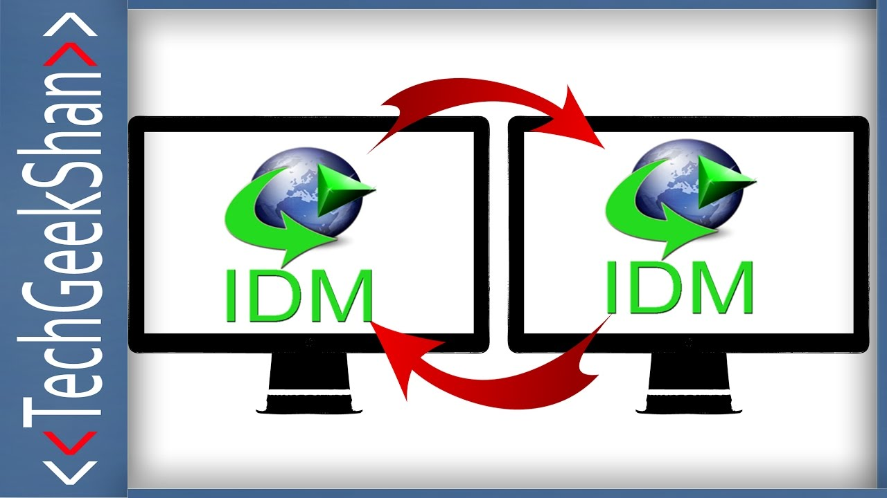 resume idm downloads in another pc internet download manager