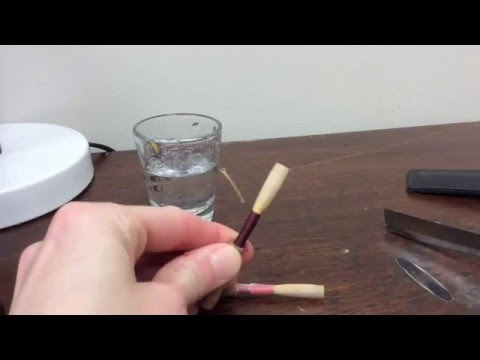 Jennet Ingle Reeds Reed Cleaning Technique