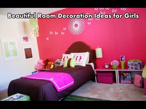 Beautiful room decoration ideas for girls youtube for Beautiful room decoration