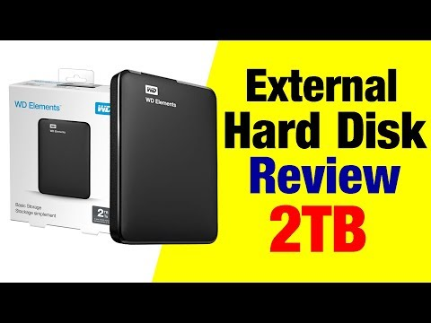 External Hard Disk WD Elements 2TB HDD  Review In Hindi