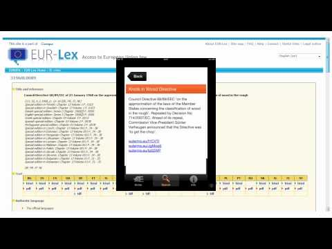 GlossGuide 2: A EUR-Lex Html Page