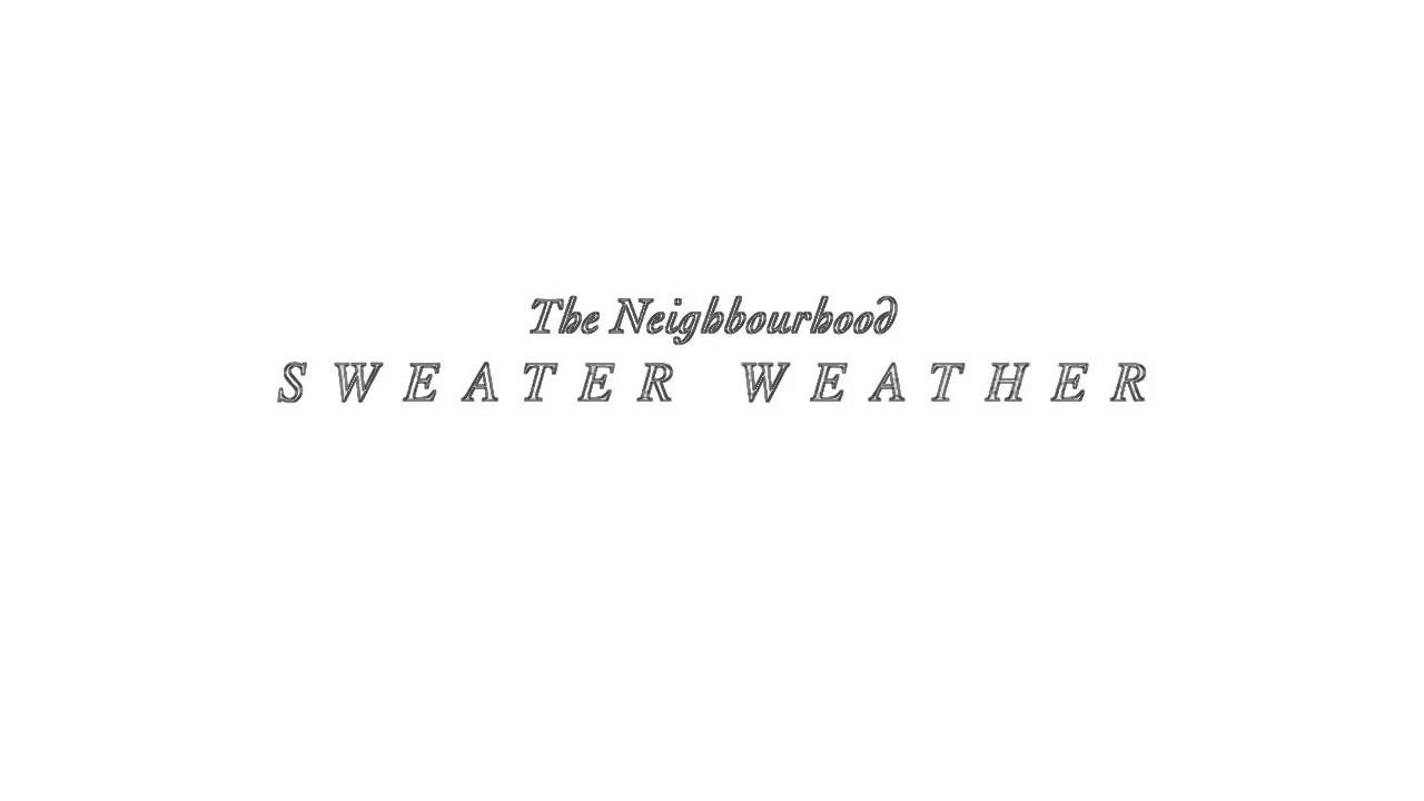 the neighbourhood sweater weather instrumental download