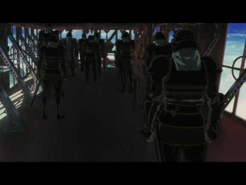 EScaflowne the Movie Opening Fight Scene Blu Ray (HD)