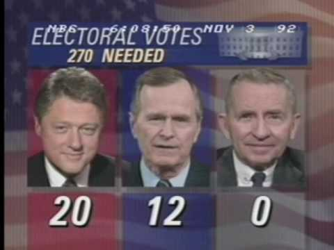 Election Night 1992 NBC News Coverage