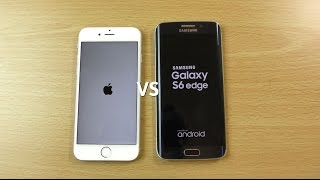 iPhone 6s VS Samsung Galaxy S6 Edge - Speed & Camera Test!