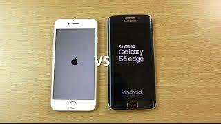 iphone 6s vs samsung galaxy s6 edge speed camera test