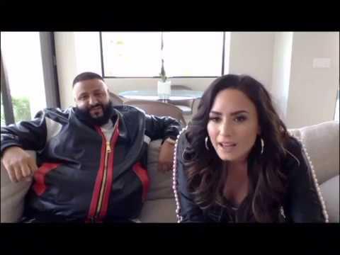 Demi Lovato and DJ Khaled Livestream