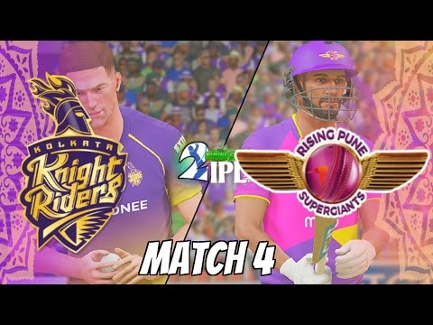 IPL GAMING SERIES 2nd EDITION - KOLKATA KNIGHT RIDERS v RISING PUNE SUPERGIANTS  GROUP 2 MATCH 4
