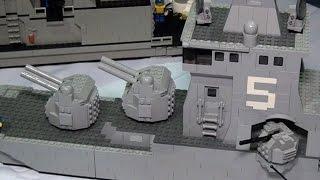 Amazing LEGO military ships and submarines | Brick Bash 2016