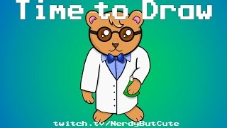 Time to Draw: Cute Scientist Bear