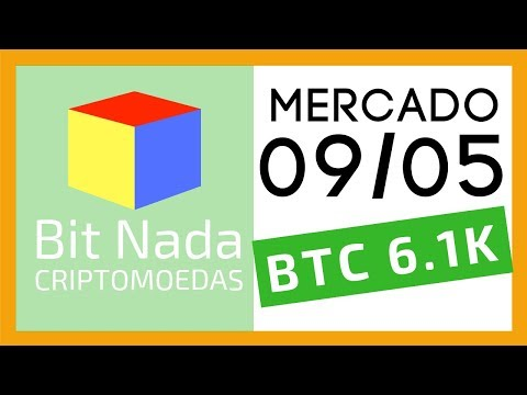 Mercado de Cripto! 09/05 Bitcoin 6.100 USD / Softfok BTC / Apple Watch / Facebook