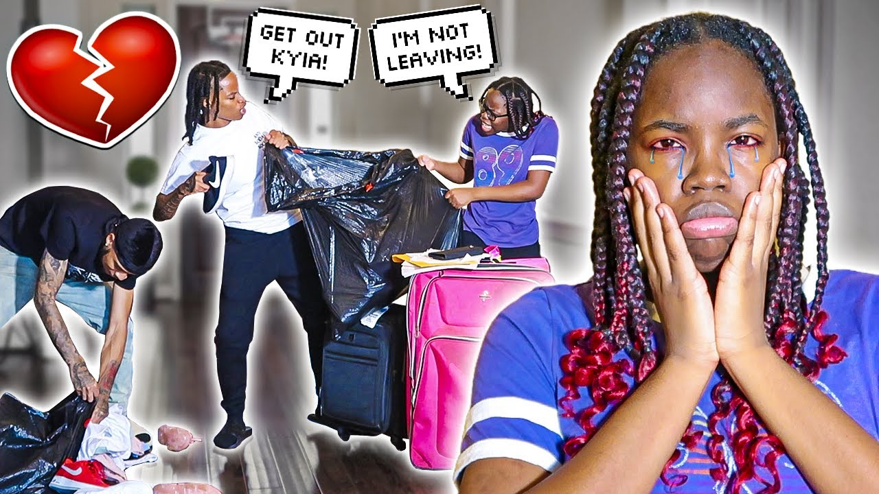 I KICKED MY LIL COUSIN OUT💔 **SHE WAS SO MAD**