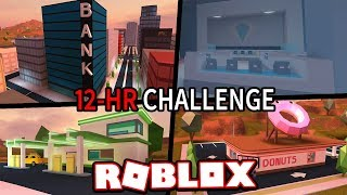 THE PERFECT JAILBREAK DAY!!! #JailbreakChallenge (Roblox Jailbreak)