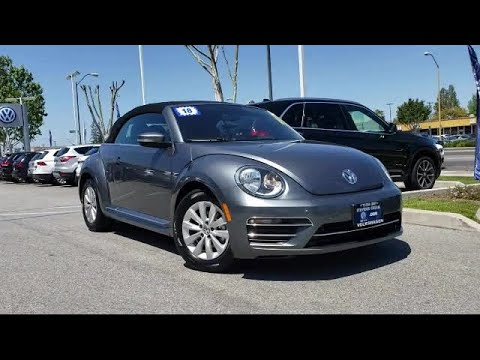 2018 Volkswagen BEETLE 2.0T S Convertible San Jose Sunnyvale Hayward Redwood City Cupertino