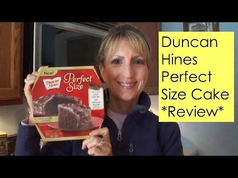 Duncan Hines Perfect Size Cake Review